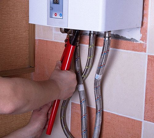 Установка накопительного электрического водонагревателя своими руками 20