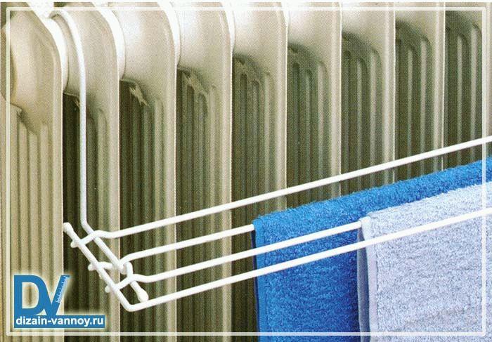 Сушилка для полотенец в ванную настенная - микроклимат в ква.