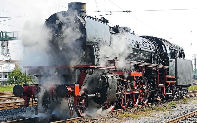 deutsche bahn, локомотив, паровоз